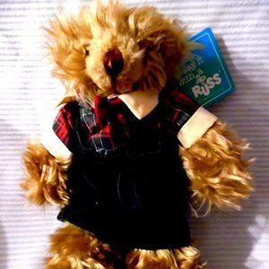BENJAMIN Plush Teddy Bear by RUSS